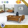 Table de bureau de cadres en bois en aluminium et haut-parleur en bois (NS-ND132)