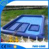 Grande piscine gonflable ronde de parc à thème gonflable