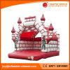 Rote Farbe aufblasbares Camelot federnd Schloss für Kind-Spielzeug (T2-002)