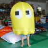 Traje amarillo inflable adulto de la alineada con precio de fábrica