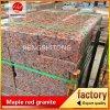 Paracarro rosso del granito dell'acero G562, pietra per lastricati del granito, paracarro del granito
