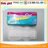 Serviette hygiénique de marque d'OEM, garnitures sanitaires avec des ailes, essuie-main sanitaires
