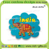 주문을 받아서 만들어진 선전용 선물 실리콘 냉장고 자석 기념품 인도 코끼리 (RC-IN)
