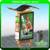 Свободно стоящий алюминий прямоугольника рекламируя солнечную светлую коробку