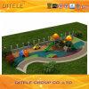114mm galvanisierte Pfosten-bunte Bereiche und Garten-Kind-im Freienspielplatz-Gerät