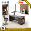 Bureau en bois de bureau exécutif de patte en métal premier (NS-ND061)