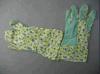 De kleurrijke Handschoen van het Katoenen Werk van de Tuin met pvc punt-2602