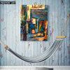 Arte abstracto de la pared de la calle del impresionismo