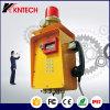 地下鉄、軽い鉄道、高速自動車道路、船、鉱山、等のための非常電話Knzd-46の使用