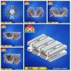 Подгонянный теплоотвод конструкции алюминиевый для мягкой индустрии старта