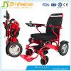 Cadeira de rodas de dobramento elétrica do uso da pessoa Disabled