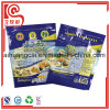 La bolsa de plástico de empaquetado modificada para requisitos particulares de la mollera lateral del sello