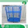 Jaula plegable del acoplamiento de alambre del almacenaje para el almacén con Ce