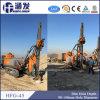Taladro rotatorio hidráulico de la perforadora de la correa eslabonada de la maquinaria de mina Hfg-45
