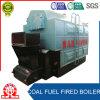Caldaia a vapore Chain industriale del combustibile del carbone di Dzl del tubo di fuoco della griglia