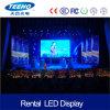 Pantalla de visualización de alquiler de interior de LED de la alta calidad P4 RGB