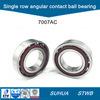 rodamiento de bolitas angular del contacto fila métrica de la talla 7007AC de la sola