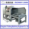 Machine automatique de sablage de Tableau rotatoire de chariot, sableuse automatique