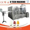 Utech自動ペットびんのフルーツジュースの熱い充填機