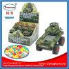 Plastique poussant la sucrerie militaire de jouet de réservoir