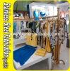 Cremagliera su ordine del gancio di vestiti del metallo del basamento dell'acciaio inossidabile di Keenhai