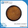 Gelbes Verkehrszeichen-helles blinkendes Licht der Farben-LED
