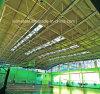 Niedrige Kosten-Stahlaufbau-Platz-Binder-Dach für Korb-Kugel-Gericht