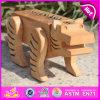 Le nouveau jouet animal en bois de l'intelligence 2015, jouet en bois éducatif mignon d'intelligence, a badiné le jouet en bois W11c015 d'intelligence