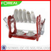 16 pouces Metal Wire Dish Rack avec Cutlery Holder