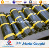 HDPE pp Uniaxial Ux Geogrid voor voor Retaining Walls Reinforcement
