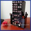 Noir de qualité tournant le stand acrylique de rouge à lievres