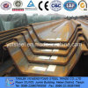 Q295 JIS Standard Steel Sheet Pile 400X170X16mm