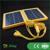 Mini panneau solaire facturant le téléphone mobile