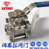3PC Locking Ball Valve mit High Mounting Pad (Q11F)
