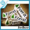 Autoadesivo amichevole verde di Eco di difesa di foresta del contrassegno degli alberi