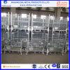 최고 판매 저장을%s 산업 병참술 중간 Foldable 철사 콘테이너 또는 상자