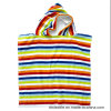 Poncho réactif de plage de poncho de Bath d'impression pour des gosses/enfants avec du coton 100%