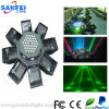 Éclairage à rayon laser d'étape d'UFO RVB DEL d'effet de disco