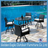Cushion를 가진 Pool Side에 있는 새로운 Design Outdoor Rattan Bar Set