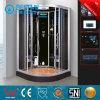 8mmの緩和されたガラスのステンレス鋼のシャワー室(BZ-5020)