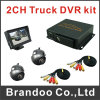 2CH HD D1 128g Installationssätze des Ableiter-Auto-DVR steuern DVR Mdvr Installationssatz automatisch an