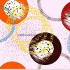 il cerchio Pigment&Disperse del fondamento 100%Polyester ha stampato il tessuto per l'insieme dell'assestamento