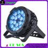 IP65는 Rgbwauv 6in1 동위 LED 18 x 옥외 18를 방수 처리한다