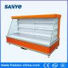 Multideck Enery que conserva o refrigerador comercial para frutas e verdura