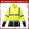 Revestimento reflexivo da segurança alaranjada amarela fluorescente impermeável do inverno (ELTHJC-476)