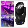 19 12W RGBW bewegliches Hauptlicht des Träger-Summen-LED