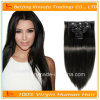 Capelli del brasiliano dei capelli diritti di estensioni dei capelli dei capelli umani di 100%