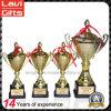 Оптовые дешевые изготовленный на заказ пустые трофеи трофея чашки трофея металла сувенира пожалования спорта чемпионов