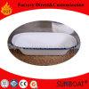 La cottura della torta del pane tostato dello smalto di Sunboat modella l'apparecchio di cucina dell'articolo da cucina della vaschetta degli stagni