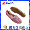 Zapatos planos y cómodos del estilo popular del pescador de las sandalias de las mujeres (TN36702)